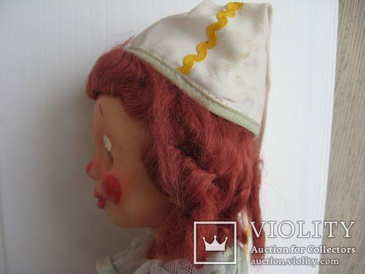 Кукла паричковая Клоун фабрики 8 Марта, СССР., фото №10
