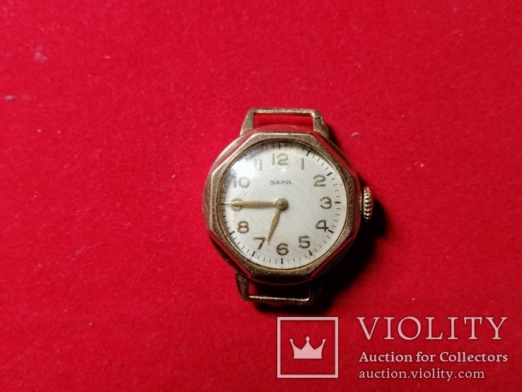 Часы Заря золото 583 проба