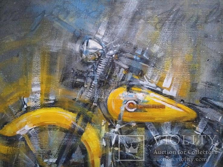 Картина Harley-Davidson Художник Ellen ORRO холст/акрил 50х70 2019 г., фото №10