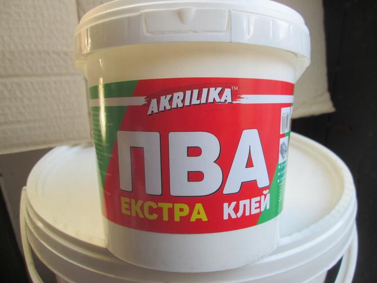 Клей ПВА ЕКСТРА. Для дерева и древоподобных материалов. 1 кг