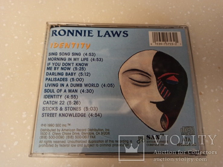 CD Ronnie Laws, фото №3