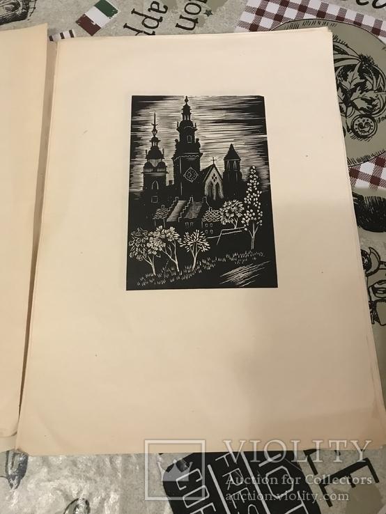 Краков Деревориты Польша 1947год