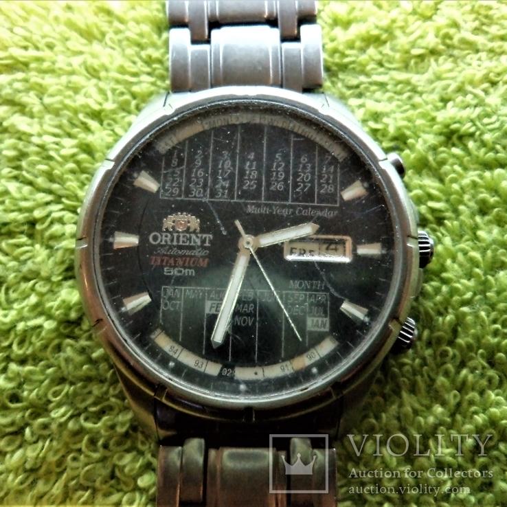 Часы Orient Titanium 50m