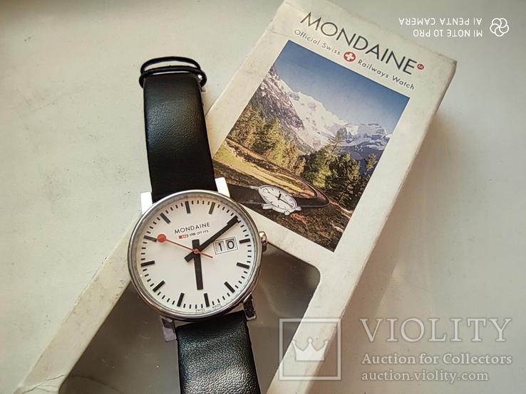 Часы швейцарские Mondaine sbb gff ffs