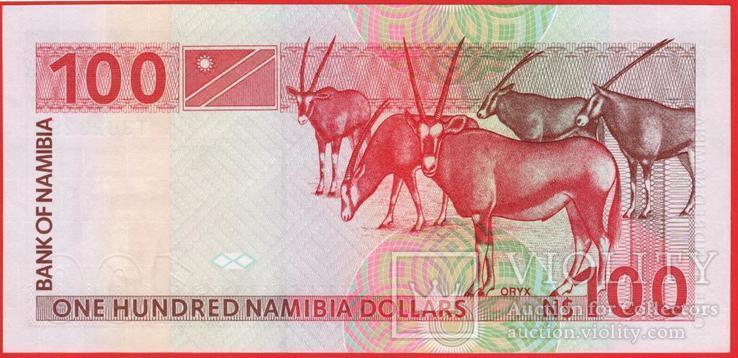 100 Наира 1993, Намибия UNC, фото №3