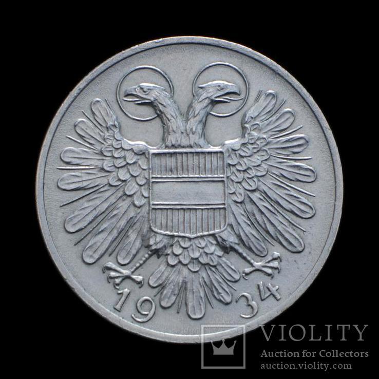 50 Грошен 1934, Австрия, фото №2