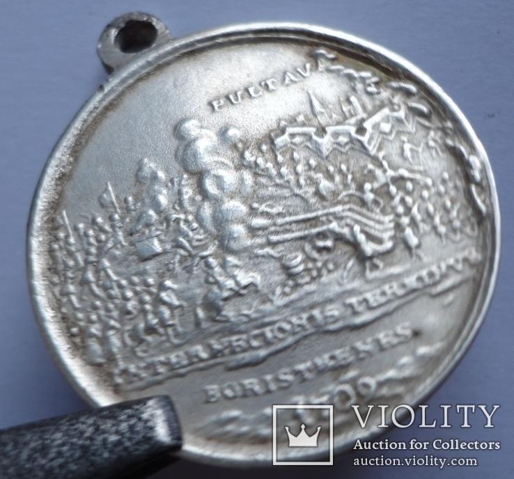 Петр 1 Полтава 1709 год копия, фото №3