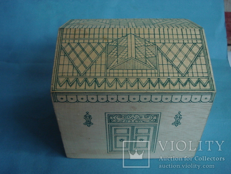 Коробка - домик от зелёного чая., фото №4