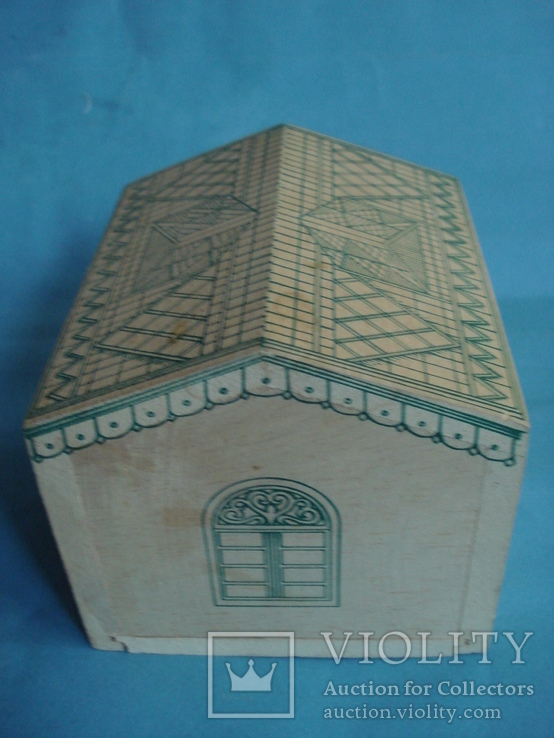 Коробка - домик от зелёного чая., фото №5