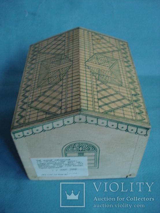 Коробка - домик от зелёного чая., фото №6