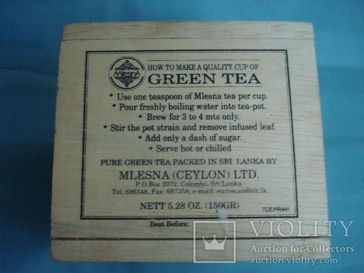 Коробка - домик от зелёного чая., фото №7
