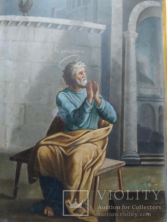 """""""Петръ плачущий у ворот"""".. 19 век., фото №3"""