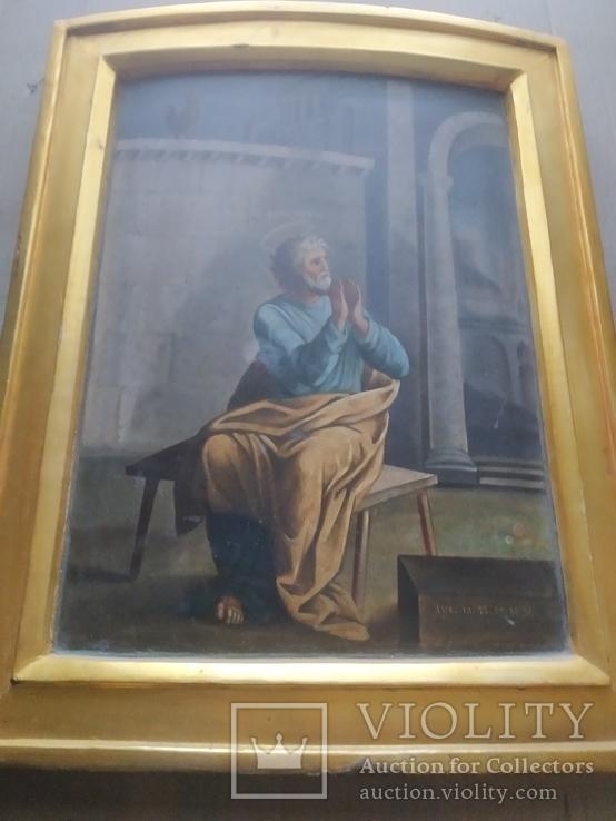 """""""Петръ плачущий у ворот"""".. 19 век., фото №9"""