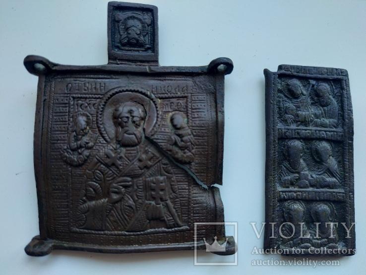Складень Святой Николай Чудотворец, фото №2