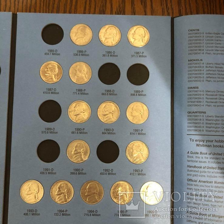 Монети 5 центів 40 шт. з Альбомом., фото №5