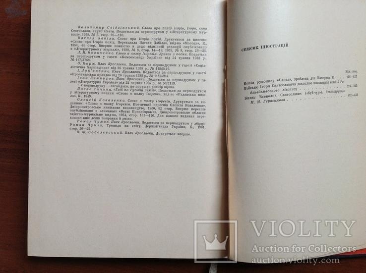 Слово о полку Ігоревім та його поетичні переклади і переспіви, фото №7