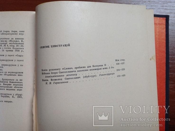 Слово о полку Ігоревім та його поетичні переклади і переспіви, фото №8