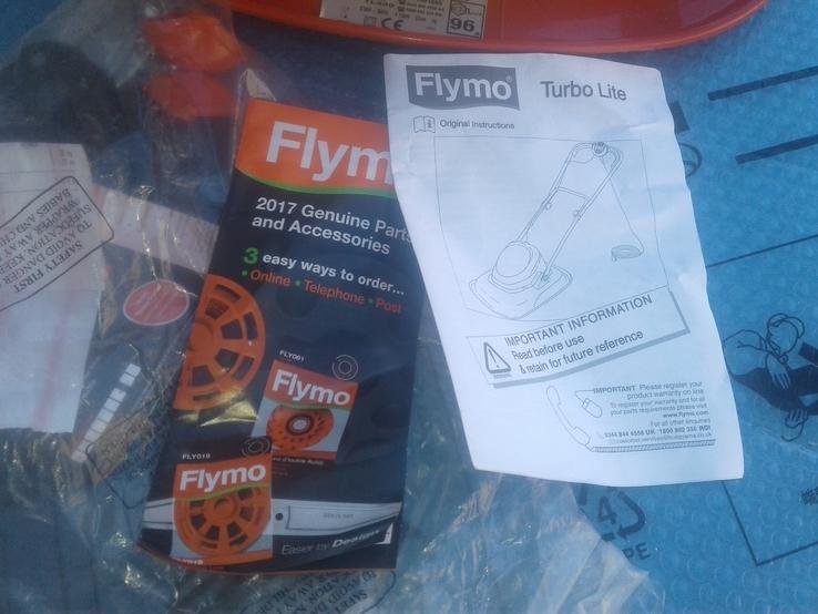 Газонокосилка Flymo Turbo Lite 330  из Англии новая., фото №6