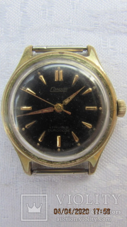 Часы Condor позолоченные