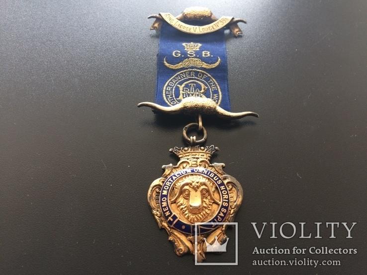 Знак Старинного Королевского Ордена Буйволов (RAOB)