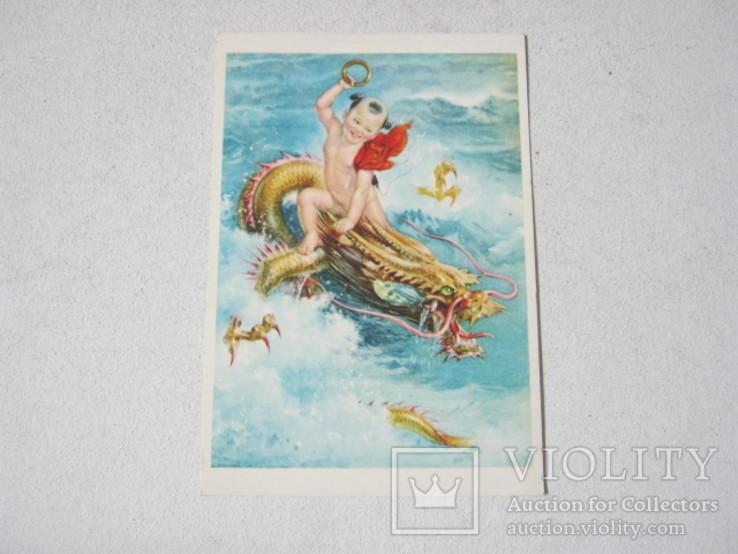 Начжа покоряет морского дракона Ли Му-бай Китай, фото №2
