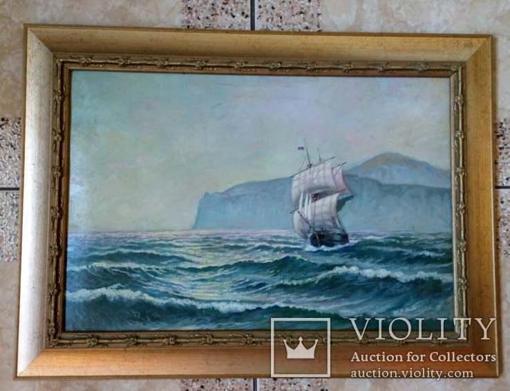 Картина Корабль с парусами