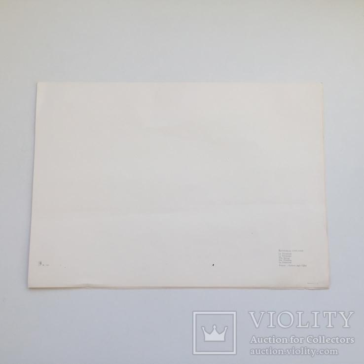 Декоративная открытка старой Италии. Шелкография., фото №3