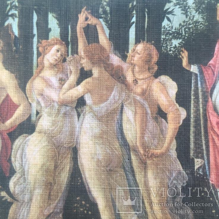 Декоративная открытка старой Италии. Шелкография., фото №11