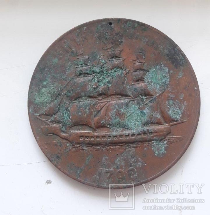 Медаль фрегат святой Николай, фото №2