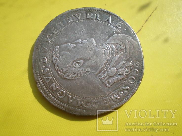 Талер Тосканы 1570 г., фото №3