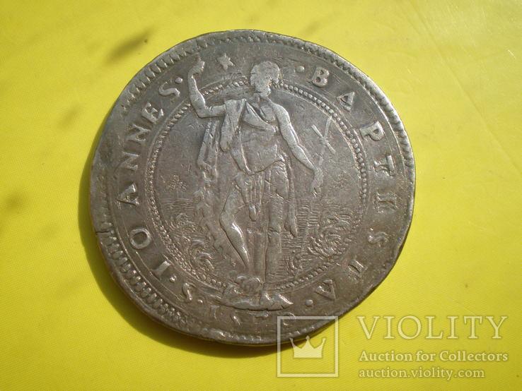 Талер Тосканы 1570 г., фото №5