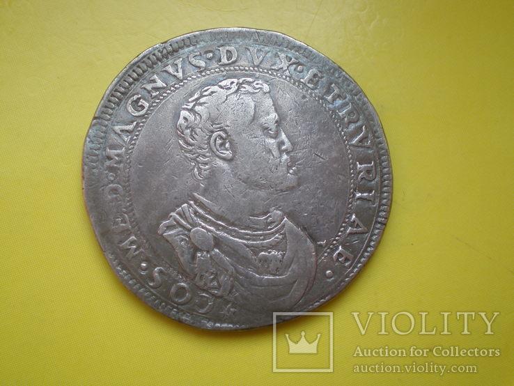 Талер Тосканы 1570 г., фото №8