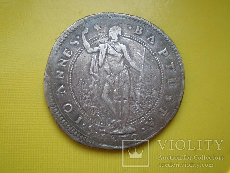 Талер Тосканы 1570 г., фото №9
