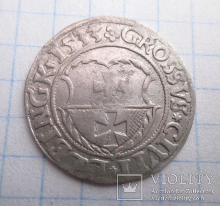 Грош 1533 г. Ельблонг