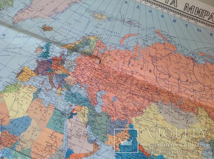 Политическая карта мира 1987г, фото №4