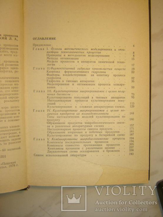 Моделирование и оптимизация микробиолог спиртового производства., фото №4