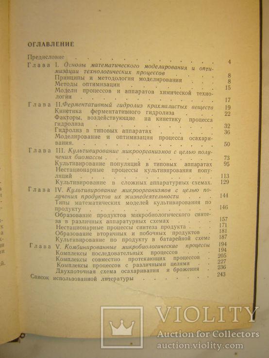 Моделирование и оптимизация микробиолог спиртового производства., фото №6