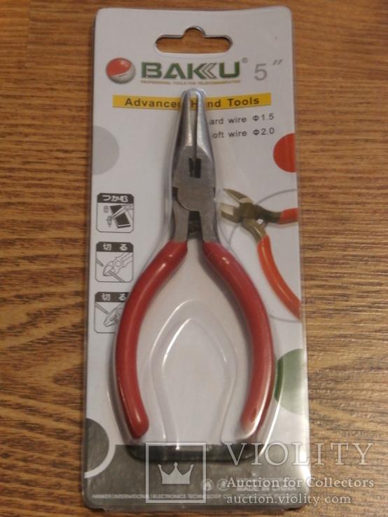 Круглогубцы BAKU BK-031, фото №2