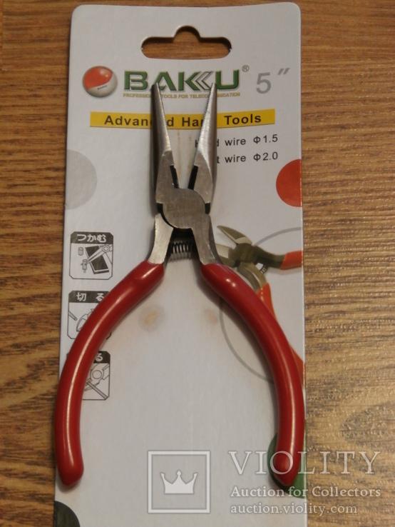 Круглогубцы BAKU BK-031, фото №3