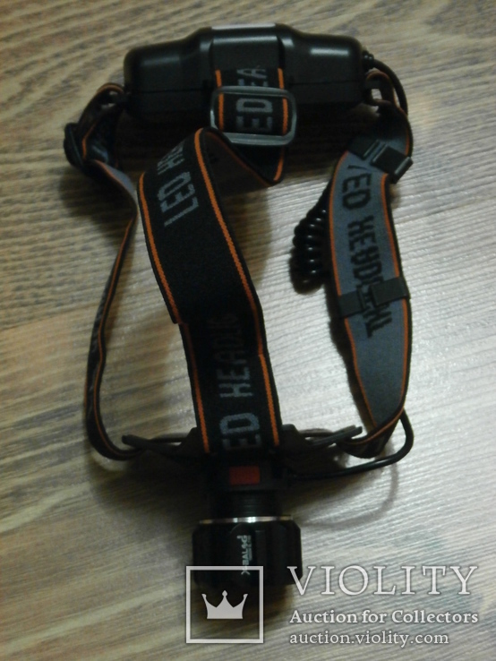 Аккумуляторный налобный фонарь BL-T100 USB Питание аккумулятор 18650 2шт, фото №4