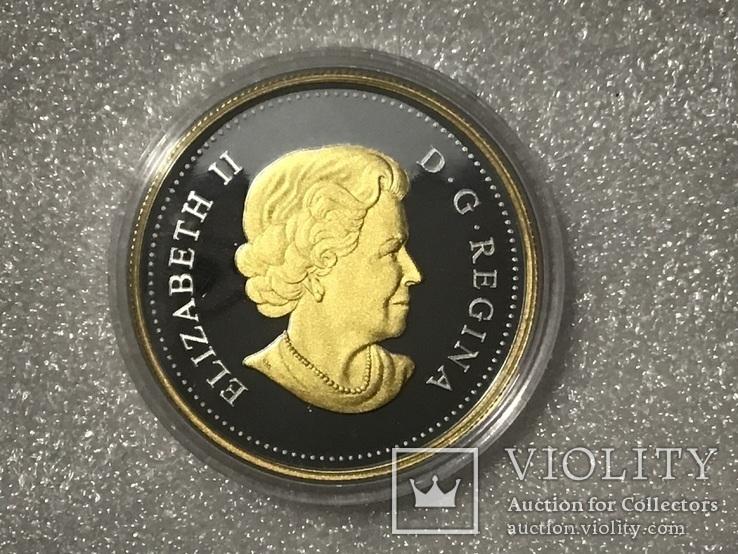 Доллар Канада 2018 года. Серебро, фото №2