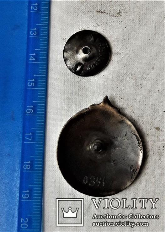 Знак За клясну стрільбу, ТСОАВІЯХЕМ УССР, копия, №0341, 1930егг, фото №4