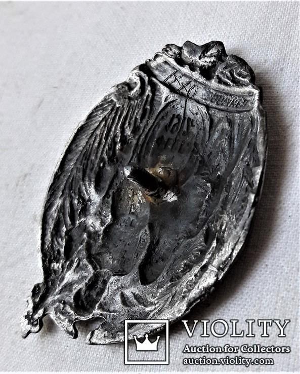 Знак  Лейп-Гвардии Волынского полка, 1917г, ВЧК ОГПУ, копия, №0771, для ОГПУ, ВЧК, фото №9