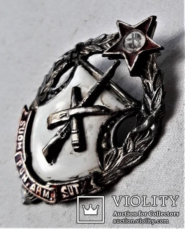 Знак Советские Петроградские курсы финских Красных командиров, копия, 1918-22гг, №841, фото №12