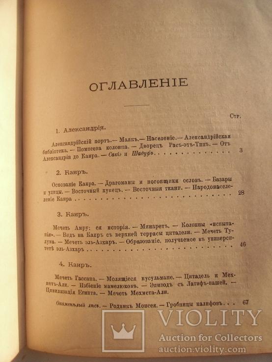 Египет В.Андреевский СПб. 1886г., фото №5