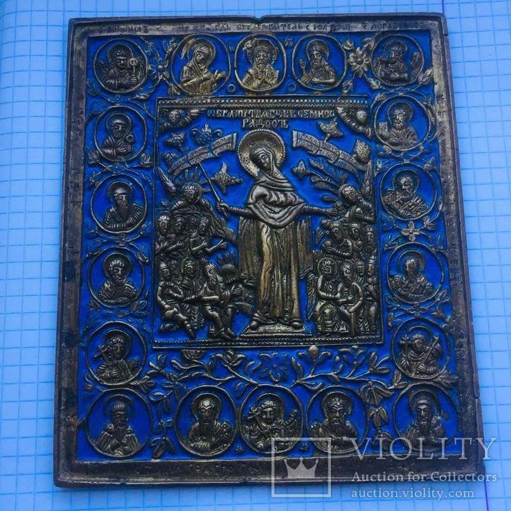 Икона Богородица Всех Скорбящих Радость