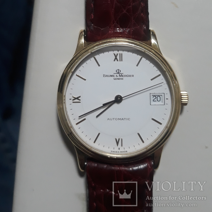 BAUME & MERCIER 18k automatic