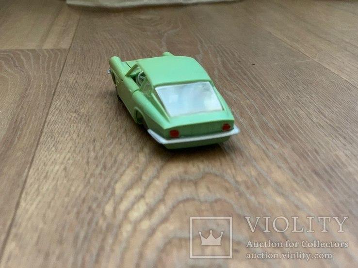 Мазерати Мистраль Купе 1/43 АРТ. Н-85-МГ модель игрушка машинка сделано в СССР, фото №4