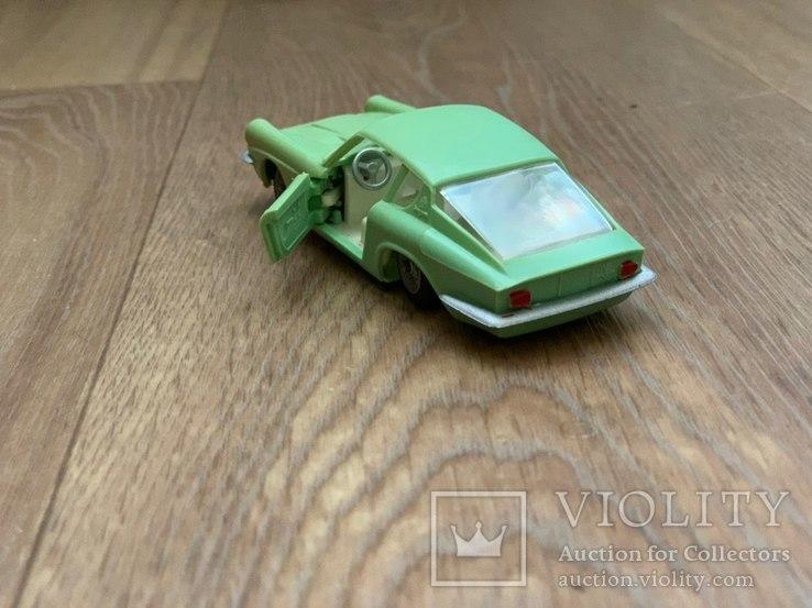 Мазерати Мистраль Купе 1/43 АРТ. Н-85-МГ модель игрушка машинка сделано в СССР, фото №5