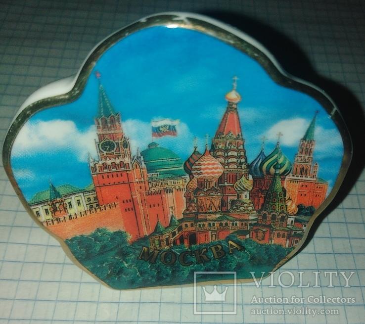 Керамический подсвечник Москава Кремль., фото №2